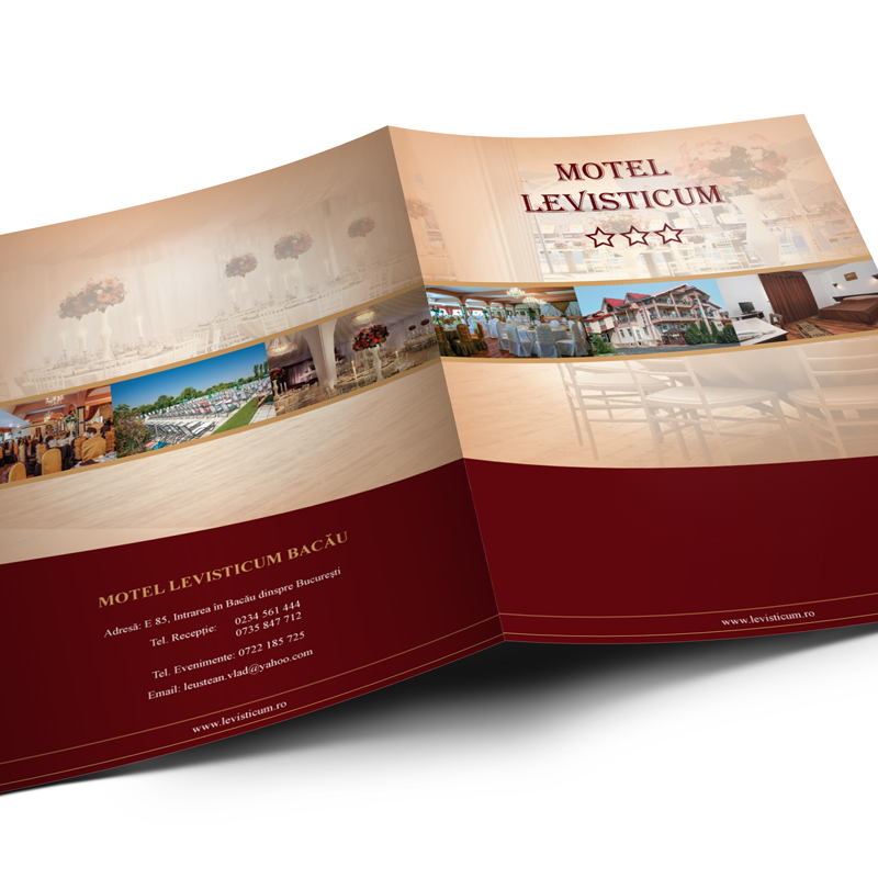 Mapă de prezentare - Motel Levisticum