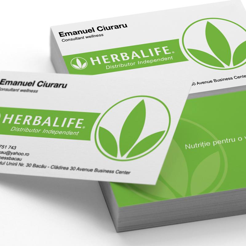 Carte de Vizită Herbalife
